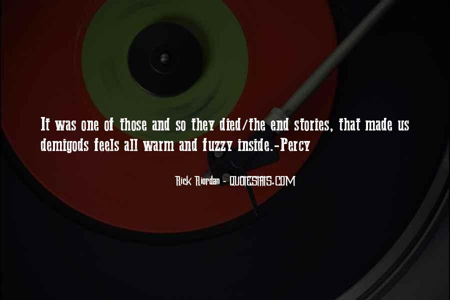 Warm Fuzzy Quotes #319600