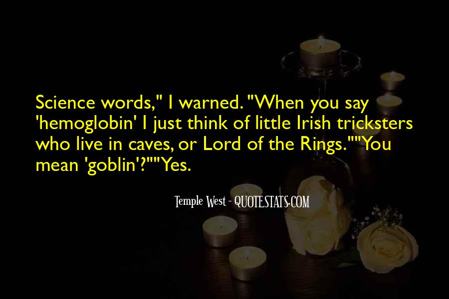 Warned You Quotes #107525