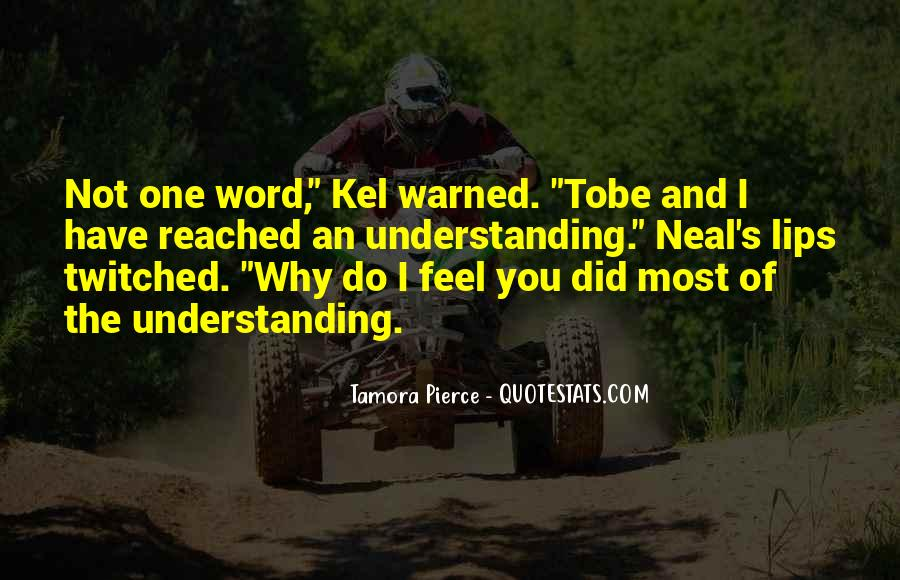 Warned You Quotes #1115