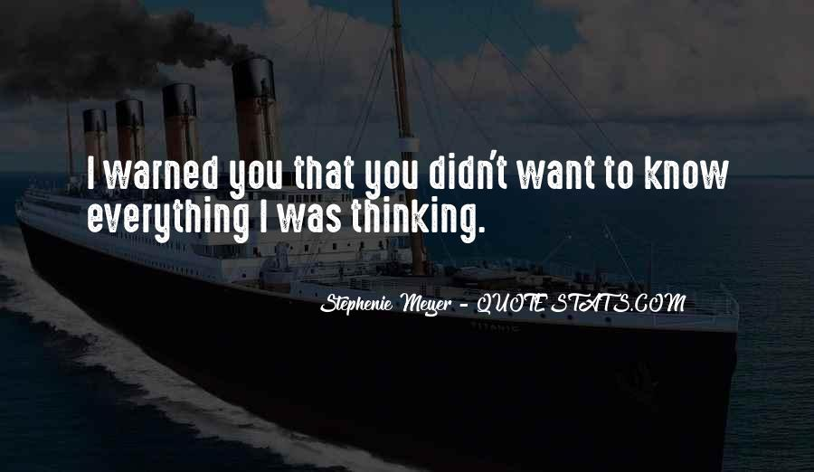 Warned You Quotes #162918