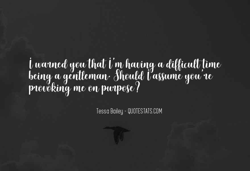 Warned You Quotes #371424