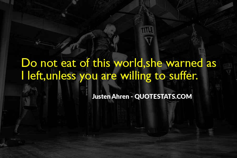 Warned You Quotes #515805