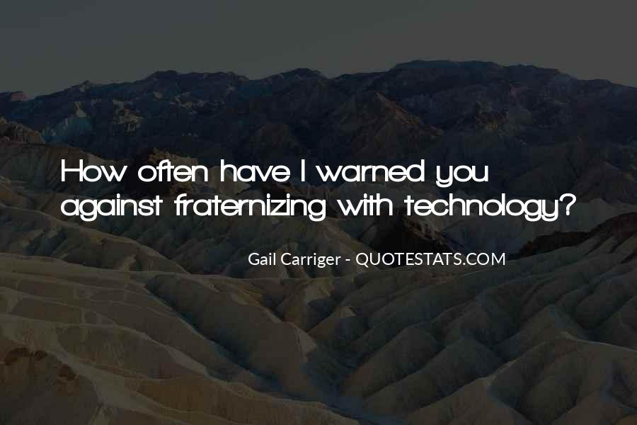 Warned You Quotes #693114