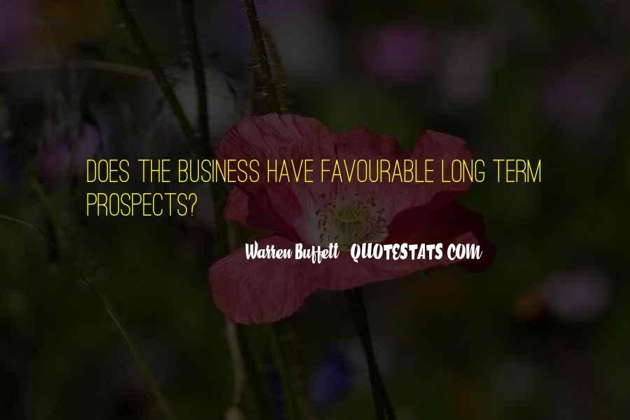 Warren Buffett Long Term Investing Quotes #1808501