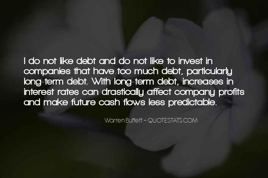 Warren Buffett Long Term Investing Quotes #253012