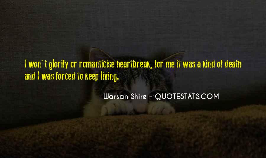 Top 55 Warsan Quotes: Famous Quotes & Sayings About Warsan