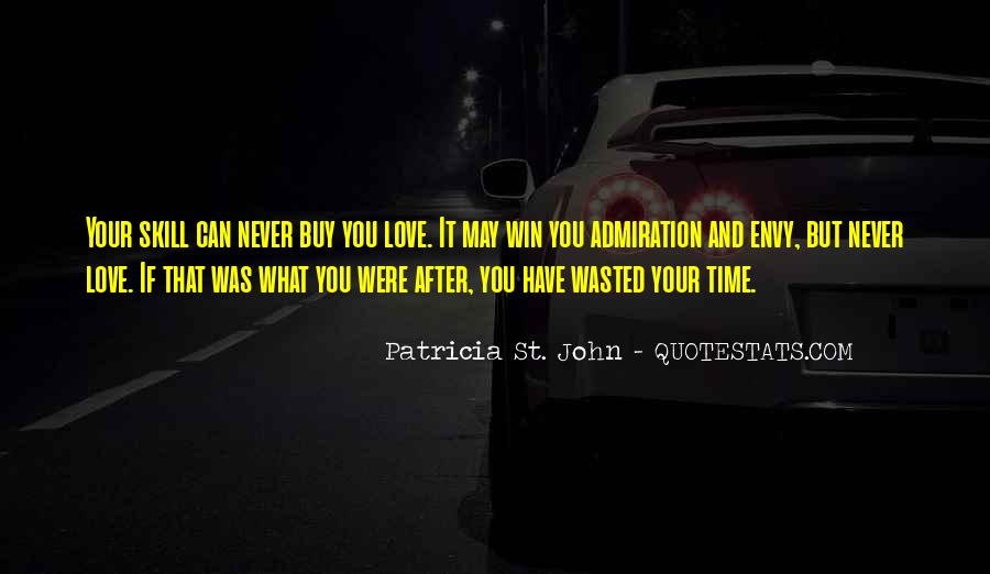 Wasted My Time Love Quotes #244869
