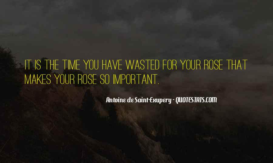 Wasted My Time Love Quotes #733765