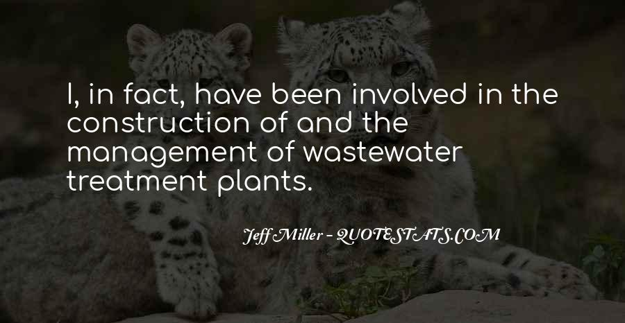 Wastewater Treatment Quotes #1374518