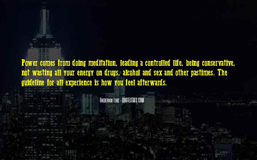Wasting Energy On Others Quotes #1051848
