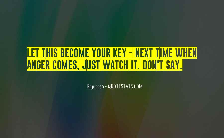 Watch Your Time Quotes #149715