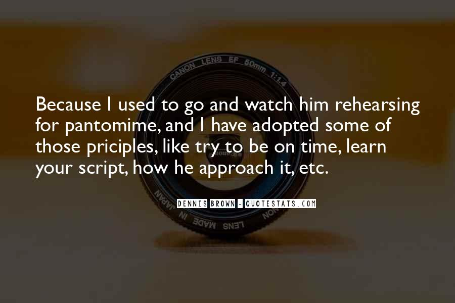 Watch Your Time Quotes #1676810