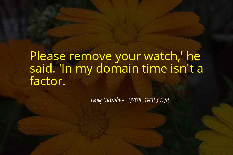 Watch Your Time Quotes #74005