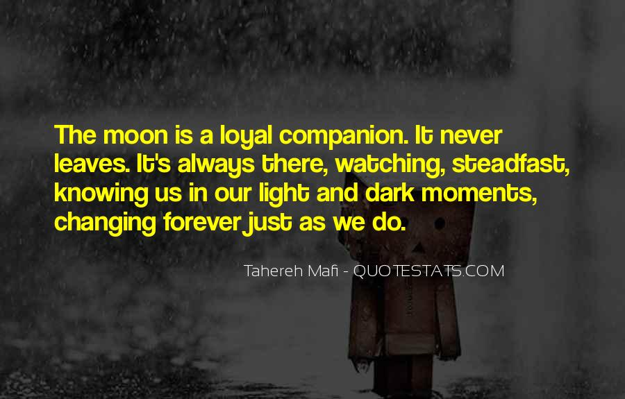 Watching Moon Quotes #1009573
