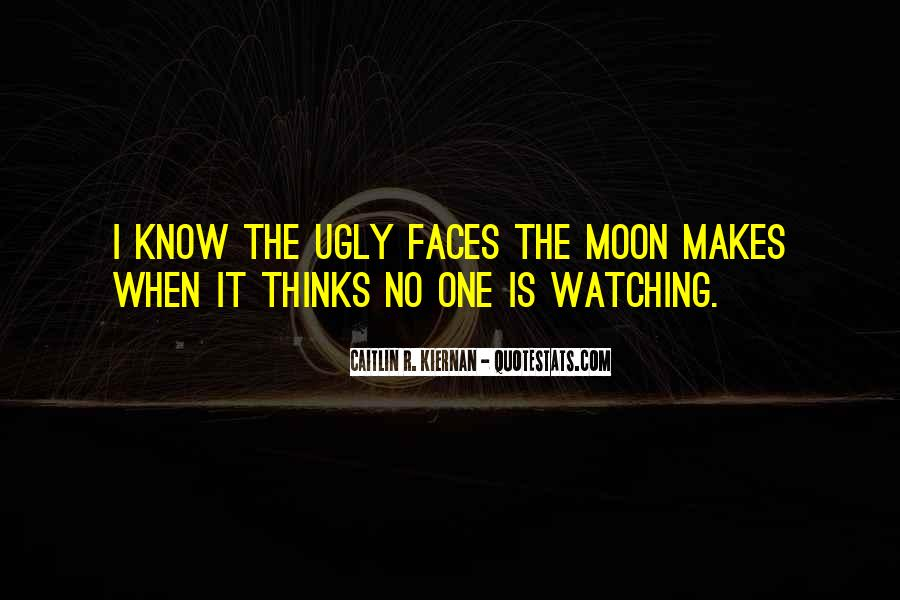 Watching Moon Quotes #1628759