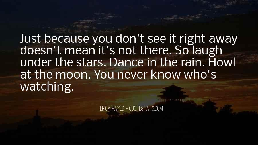 Watching Moon Quotes #790762