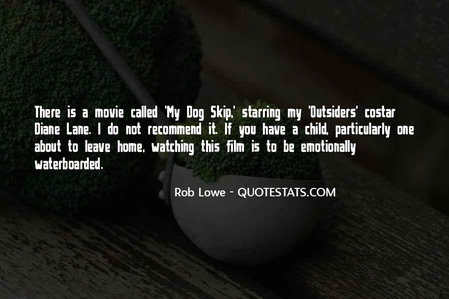 Watching Movie At Home Quotes #891504