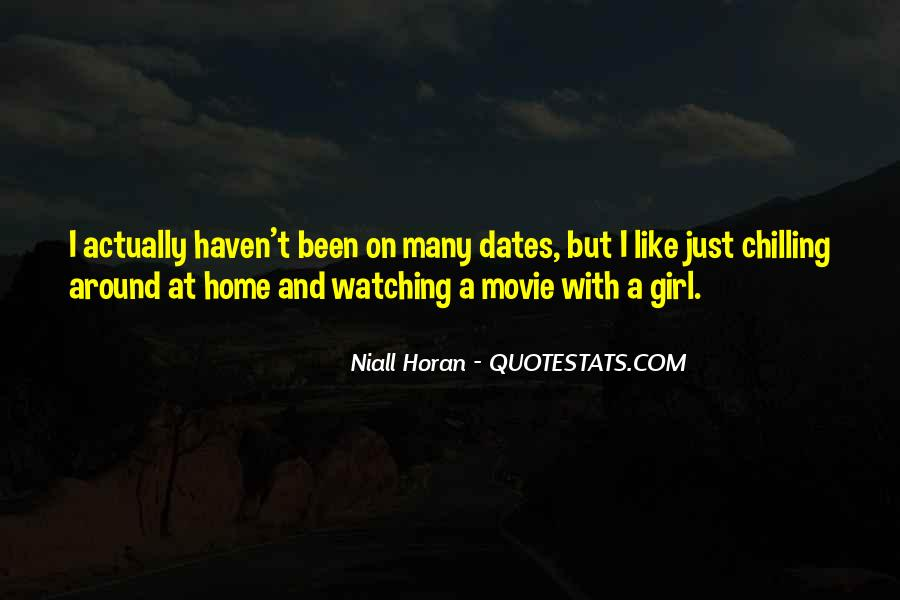 Watching Movie At Home Quotes #951213