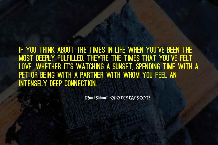 Watching Sunset Love Quotes #1399299