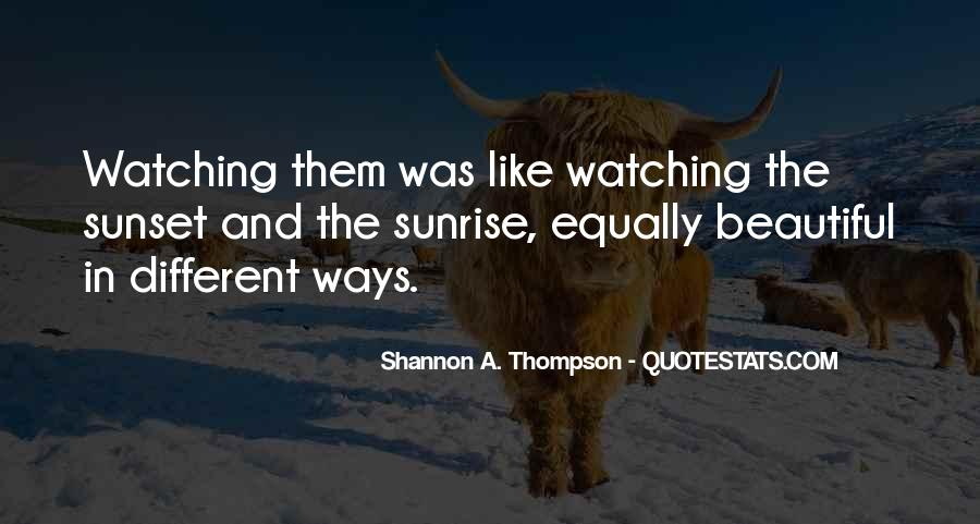 Watching Sunset Love Quotes #863326