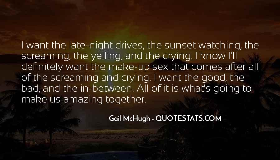 Watching Sunset Together Quotes #556349
