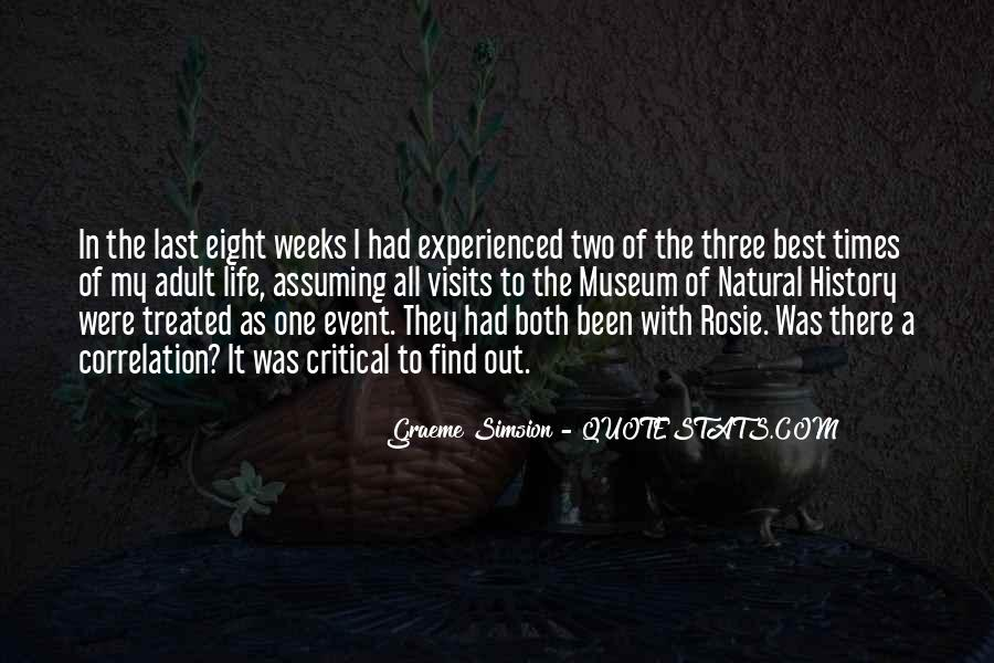 Quotes About Natural History #146650