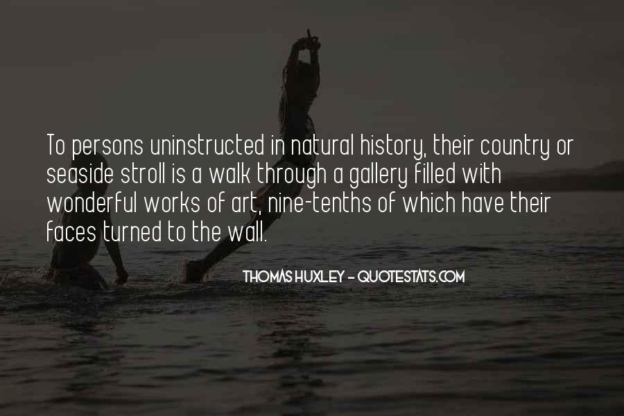 Quotes About Natural History #233988