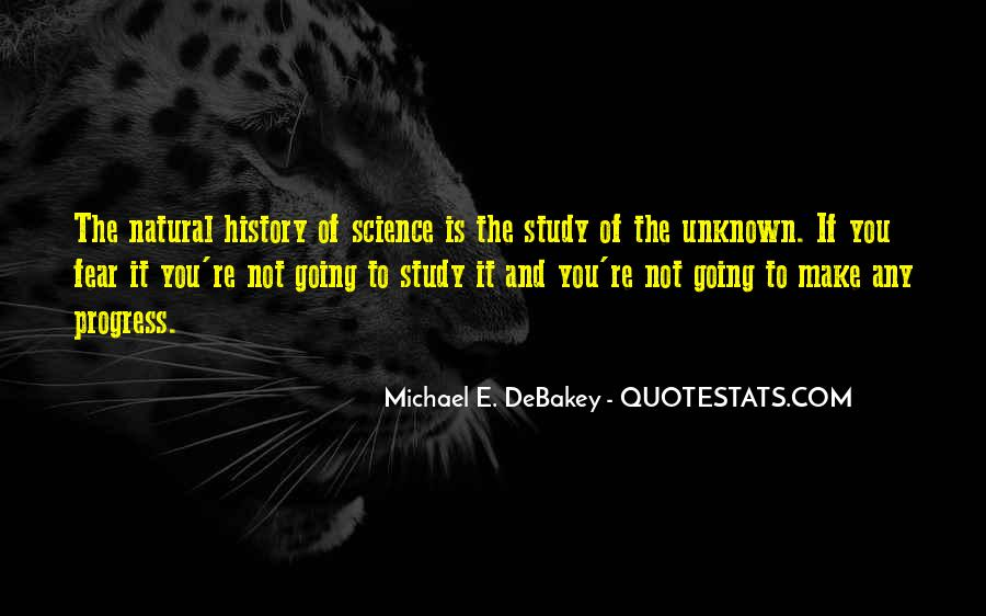 Quotes About Natural History #343163