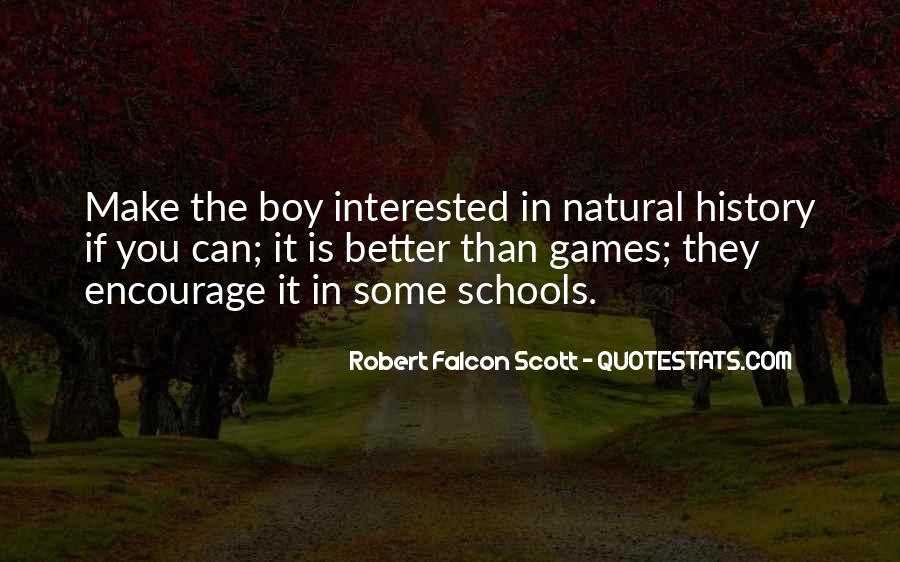 Quotes About Natural History #492512