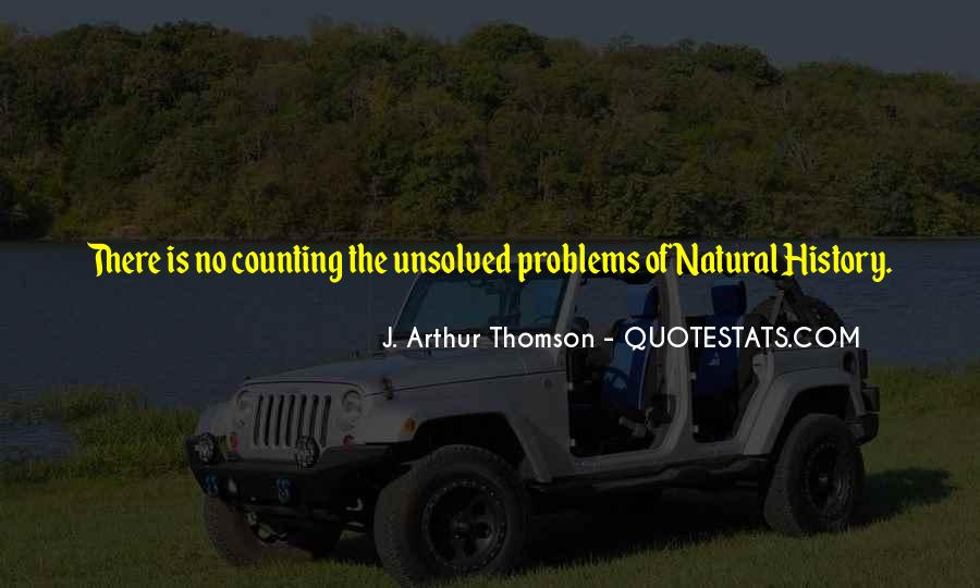 Quotes About Natural History #498577