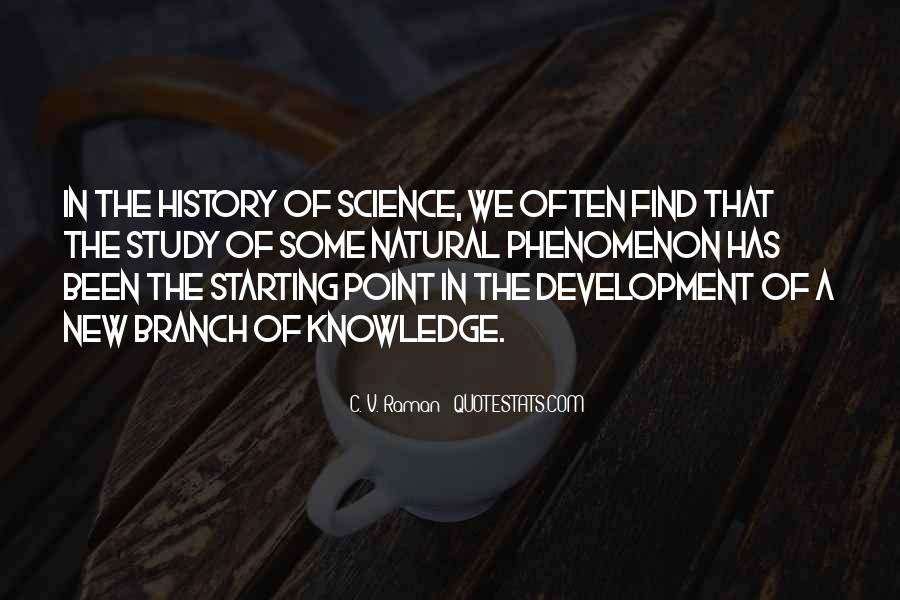 Quotes About Natural History #562574