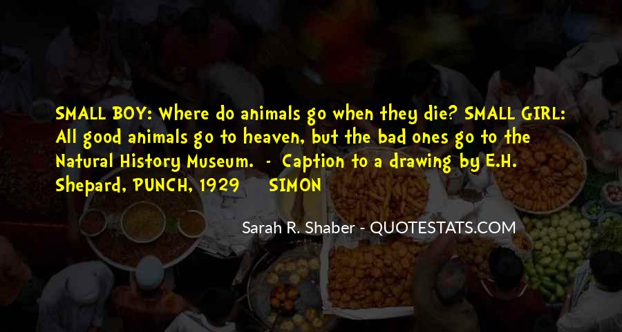 Quotes About Natural History #56949