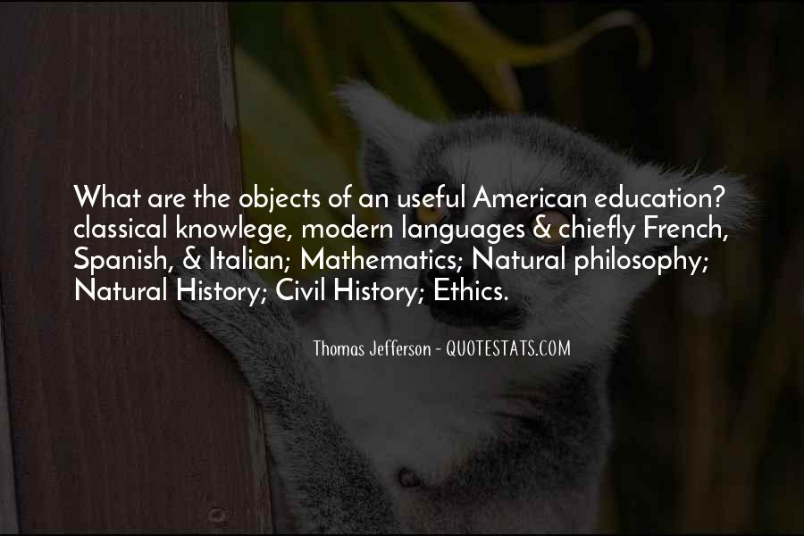 Quotes About Natural History #582736