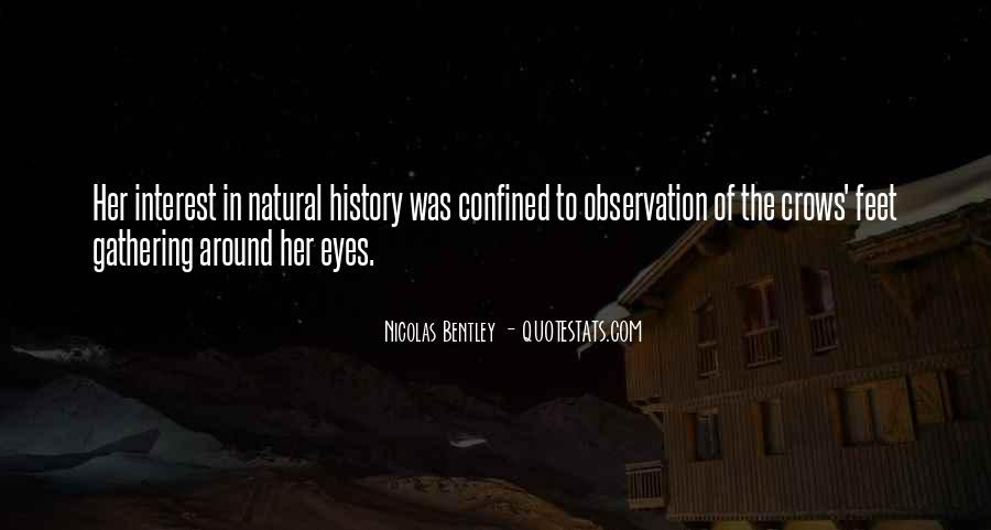 Quotes About Natural History #601054