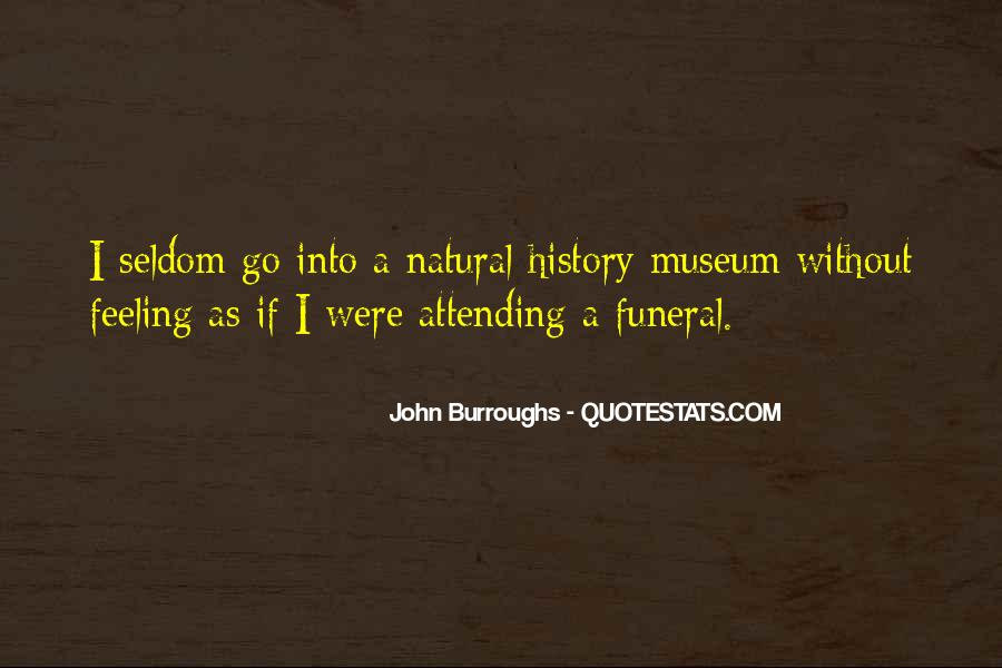 Quotes About Natural History #741411