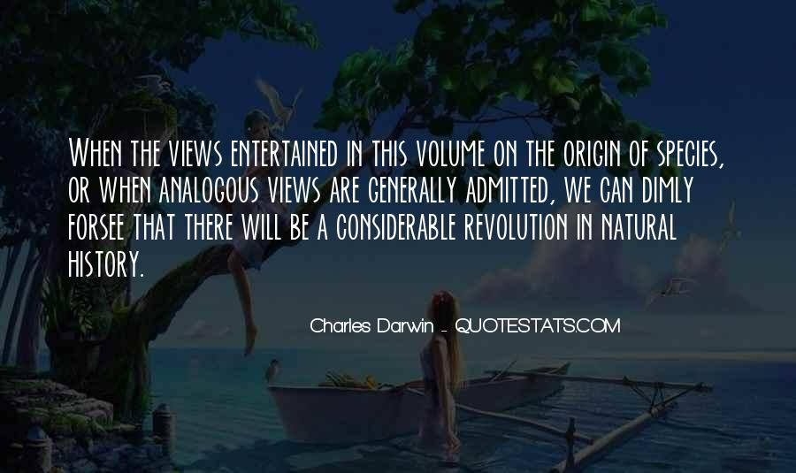Quotes About Natural History #755884