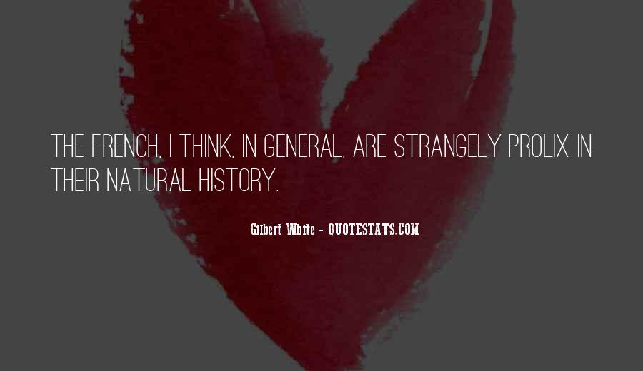 Quotes About Natural History #765760