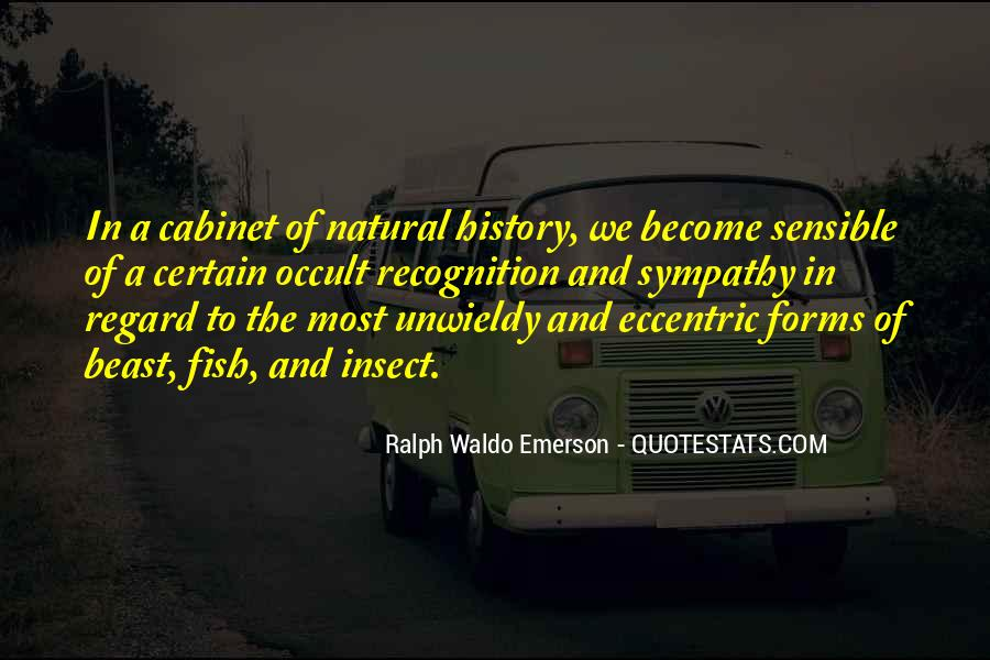 Quotes About Natural History #839709