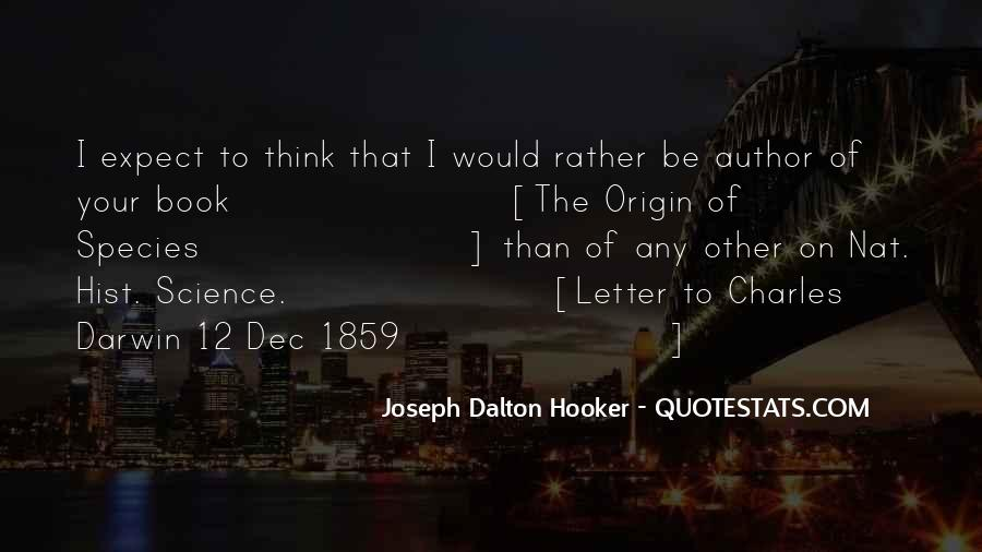 Quotes About Natural History #849522