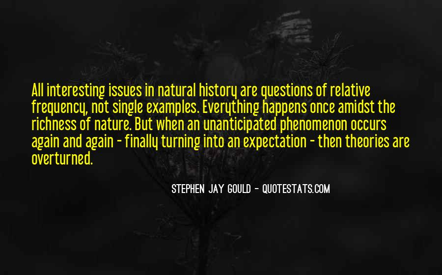 Quotes About Natural History #866567