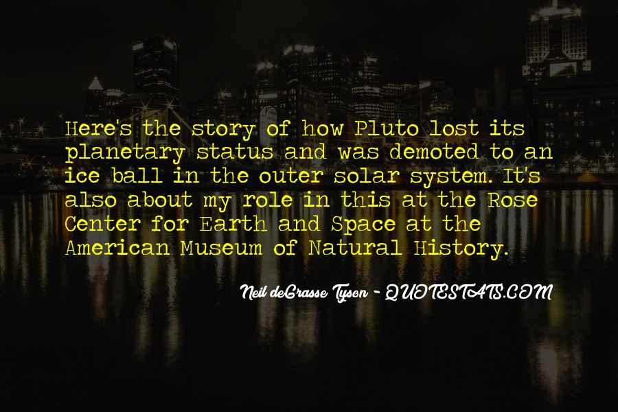 Quotes About Natural History #907873