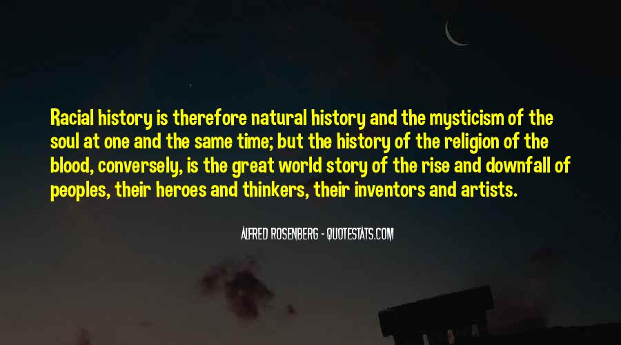 Quotes About Natural History #924863