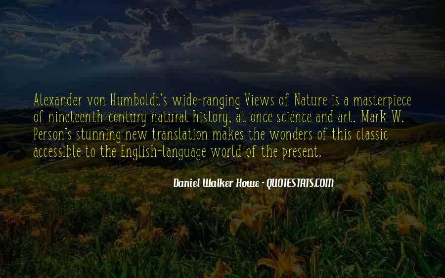 Quotes About Natural History #929429