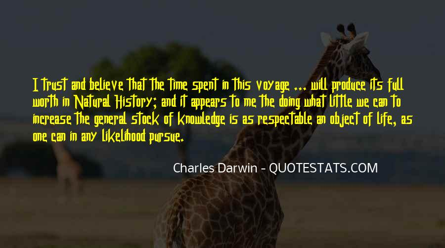 Quotes About Natural History #936005