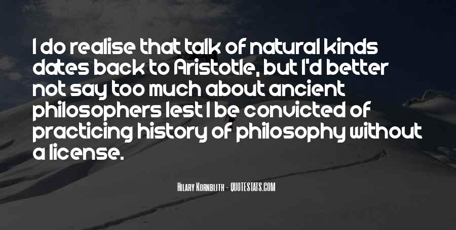 Quotes About Natural History #960538