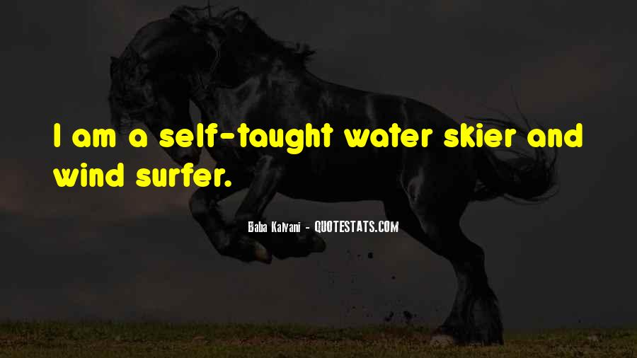 Water Skier Quotes #405235