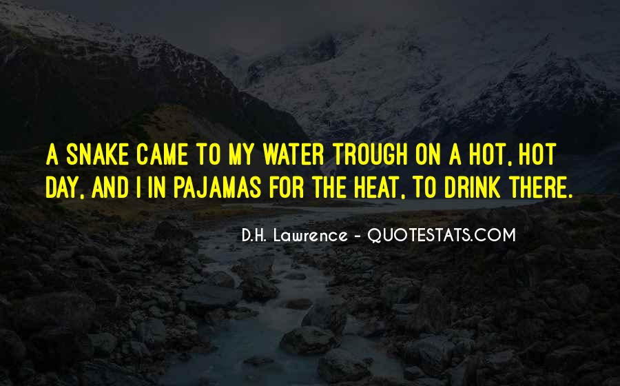 Water Snake Quotes #1274271