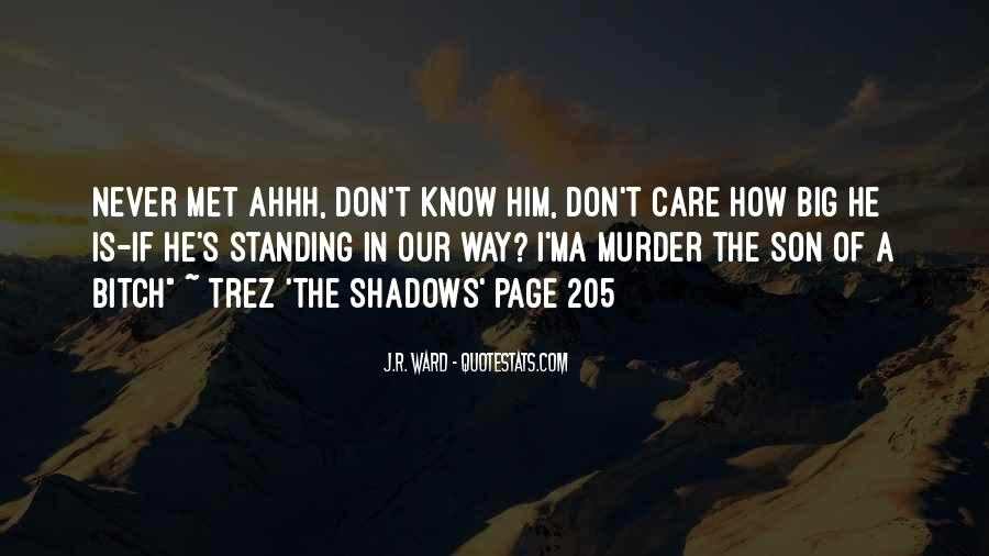 Way Of Shadows Quotes #16295