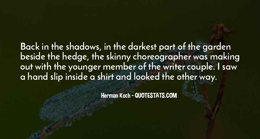 Way Of Shadows Quotes #1806777