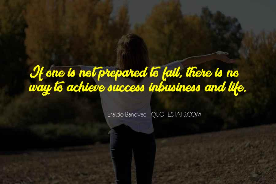 Way To Success In Life Quotes #1407334